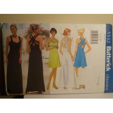 Butterick Sewing Pattern 5542