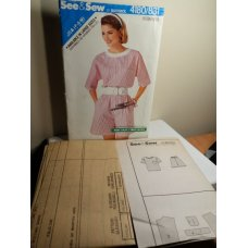 Butterick See and Sew Sewing Pattern 4180