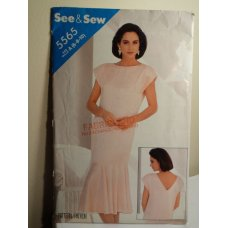 Butterick See and Sew Sewing Pattern 5565