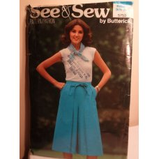 Butterick See and Sew Sewing Pattern 5753