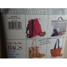 Butterick Sewing Pattern 3343