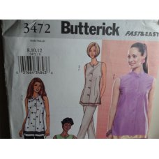 Butterick Sewing Pattern 3472