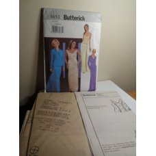 Butterick Sewing Pattern 3652