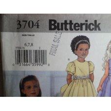 Butterick Sewing Pattern 3704