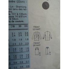 Butterick Sewing Pattern 4378