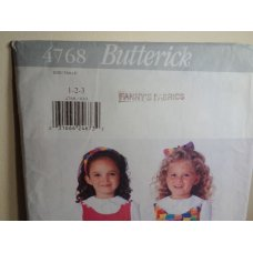 Butterick Sewing Pattern 4768