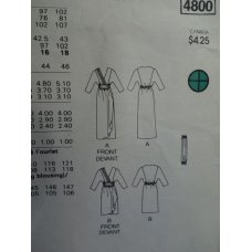 Butterick Sewing Pattern 4800