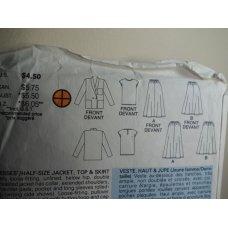 Butterick Sewing Pattern 4841