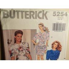 Butterick Sewing Pattern 5254