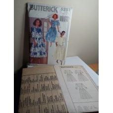 Butterick Sewing Pattern 5257