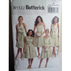 Butterick Sewing Pattern 5322