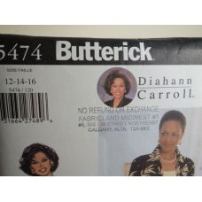 Butterick Sewing Pattern 5474