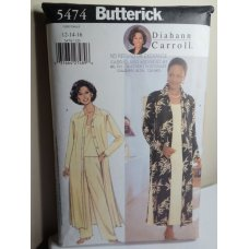 Butterick Sewing Pattern 5474