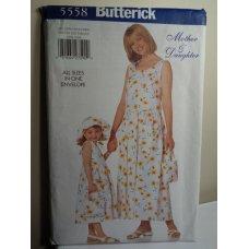 Butterick Sewing Pattern 5558