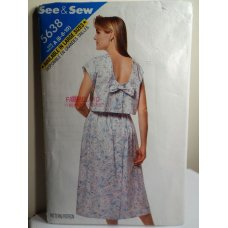 Butterick See and Sew Sewing Pattern 5638