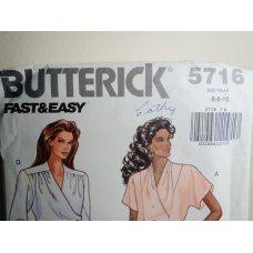 Butterick Sewing Pattern 5716