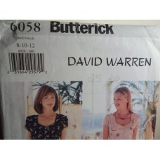 Butterick Sewing Pattern 6058
