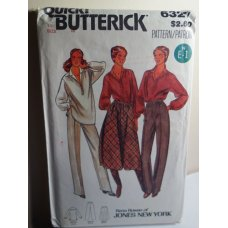 Butterick Sewing Pattern 6327