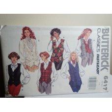 Butterick Sewing Pattern 6417