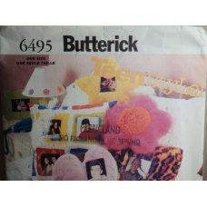 Butterick Sewing Pattern 6495