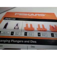 Brand New FISKARS 3 IN 1 Floral Fastener, Open Box