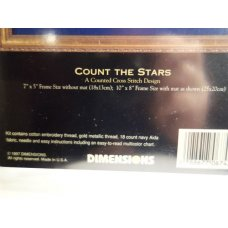 Dimensions Gold Collection Cross Stitch Count the Stars