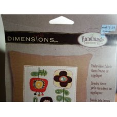 Dimensions Handmade Embroidery Kit, Crewel Blooms