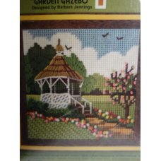 Jiffy Needlepoint, Garden Gazebo No. 5740