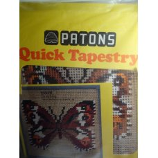PATONS Quick Tapestry Kit, Grayling, VERY RARE