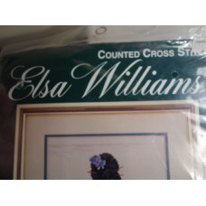 Elsa Williams Cross Stitch The Kimono