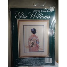 Elsa Williams Cross Stitch The Kimono
