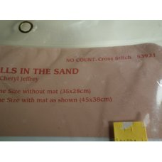 From The Heart Cross Stitch Seashells in the Sand 53921