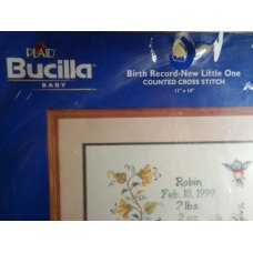 Plaid Bucilla Baby 42103