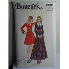 Butterick Sewing Pattern 6891
