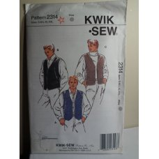 KWIK SEW Sewing Pattern 2314