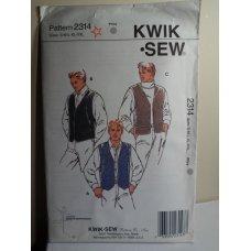 KWIK SEW Sewing Pattern 2314