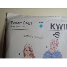 KWIK SEW Sewing Pattern 2421