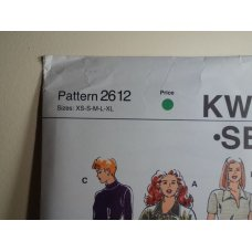 KWIK SEW Sewing Pattern 2612