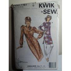 KWIK SEW Sewing Pattern 1181