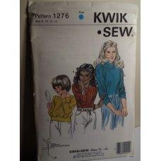 KWIK SEW Sewing Pattern 1276