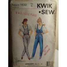 KWIK SEW Sewing Pattern 1632