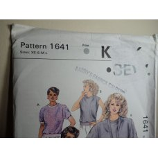 KWIK SEW Sewing Pattern 1641