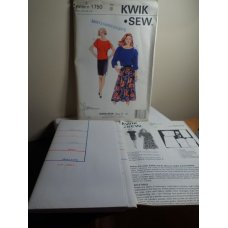 KWIK SEW Sewing Pattern 1750