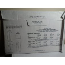 KWIK SEW Sewing Pattern 2056