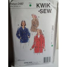 KWIK SEW Sewing Pattern 2487