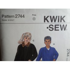 KWIK SEW Sewing Pattern 2744