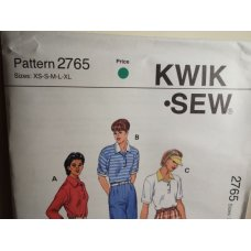 KWIK SEW Sewing Pattern 2765