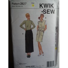 KWIK SEW Sewing Pattern 2827