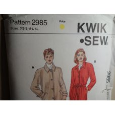 KWIK SEW Sewing Pattern 2985