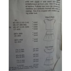 KWIK SEW Sewing Pattern 3152